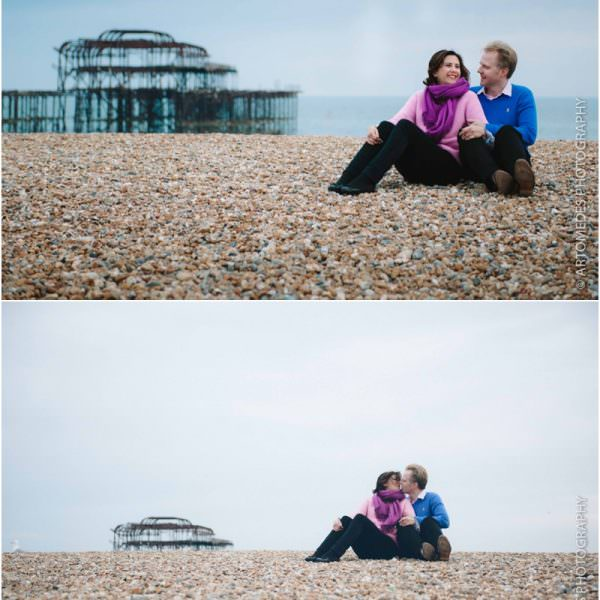 Brighton Pre Wedding Shoot