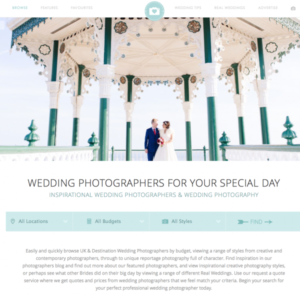 Featured on Your Perfect Wedding Photographer