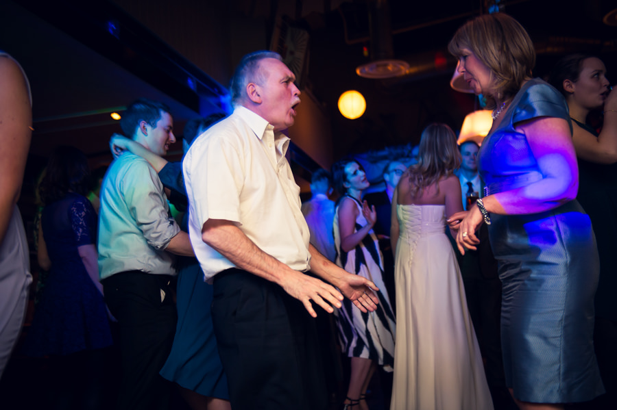 guests dancing at the Artisan of Clerkenwell wedding