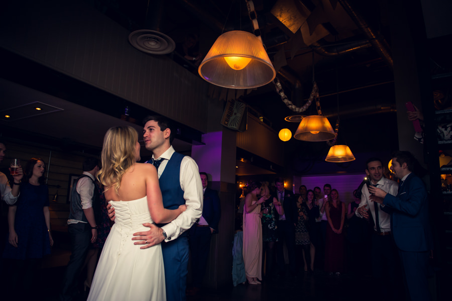 dancing at the Artisan of Clerkenwell wedding