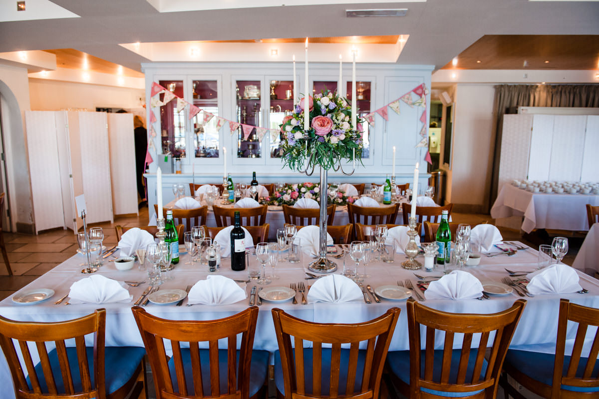 Itchenor Sailing Club wedding receptions