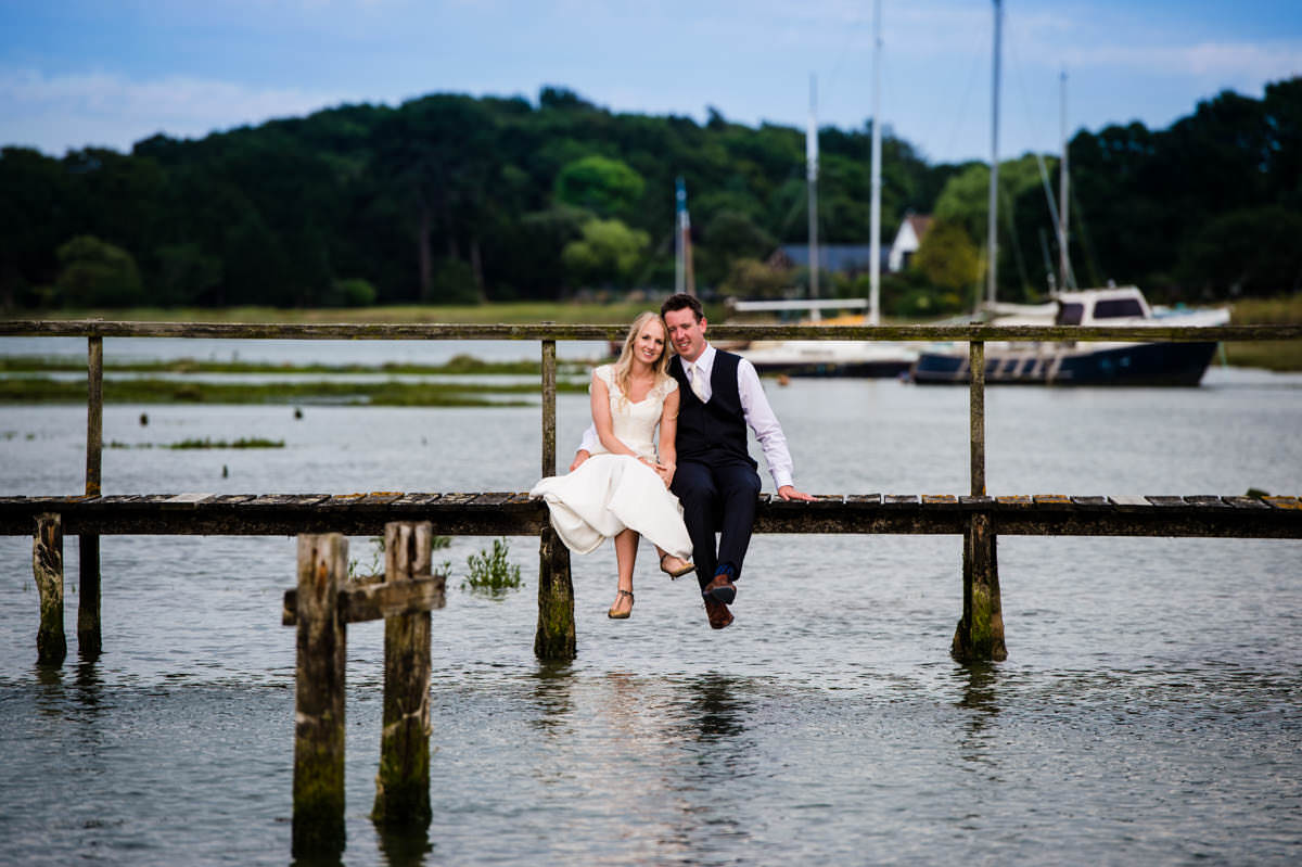 Itchenor Sailing Club wedding photography