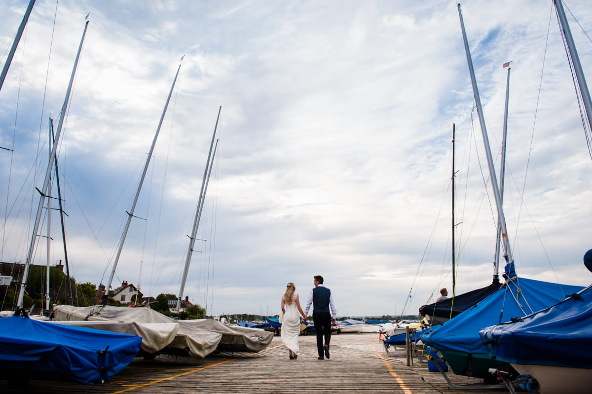 West Sussex wedding venues - Itchenor Sailing Club