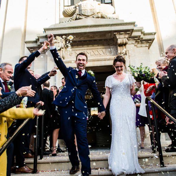 Wedding Photography at Hawksmoor Guildhall