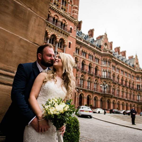 Summer Wedding at St Pancras Renaissance Hotel
