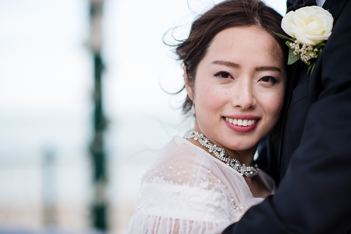 chinese wedding at brighton bandstand