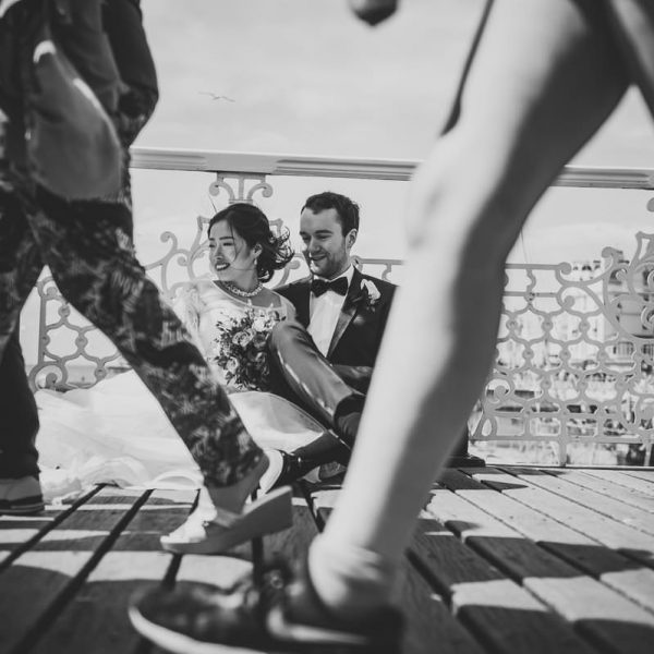 Brighton Bandstand Wedding Photography