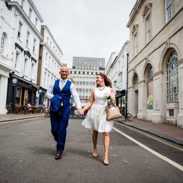 Brighton Town Hall Elopement Wedding Photographer