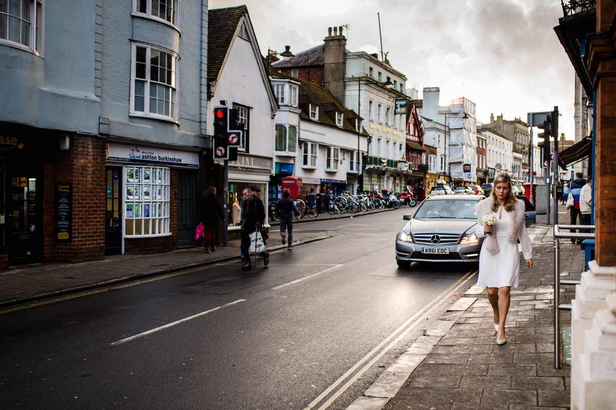 Lewes Town Hall wedding photography