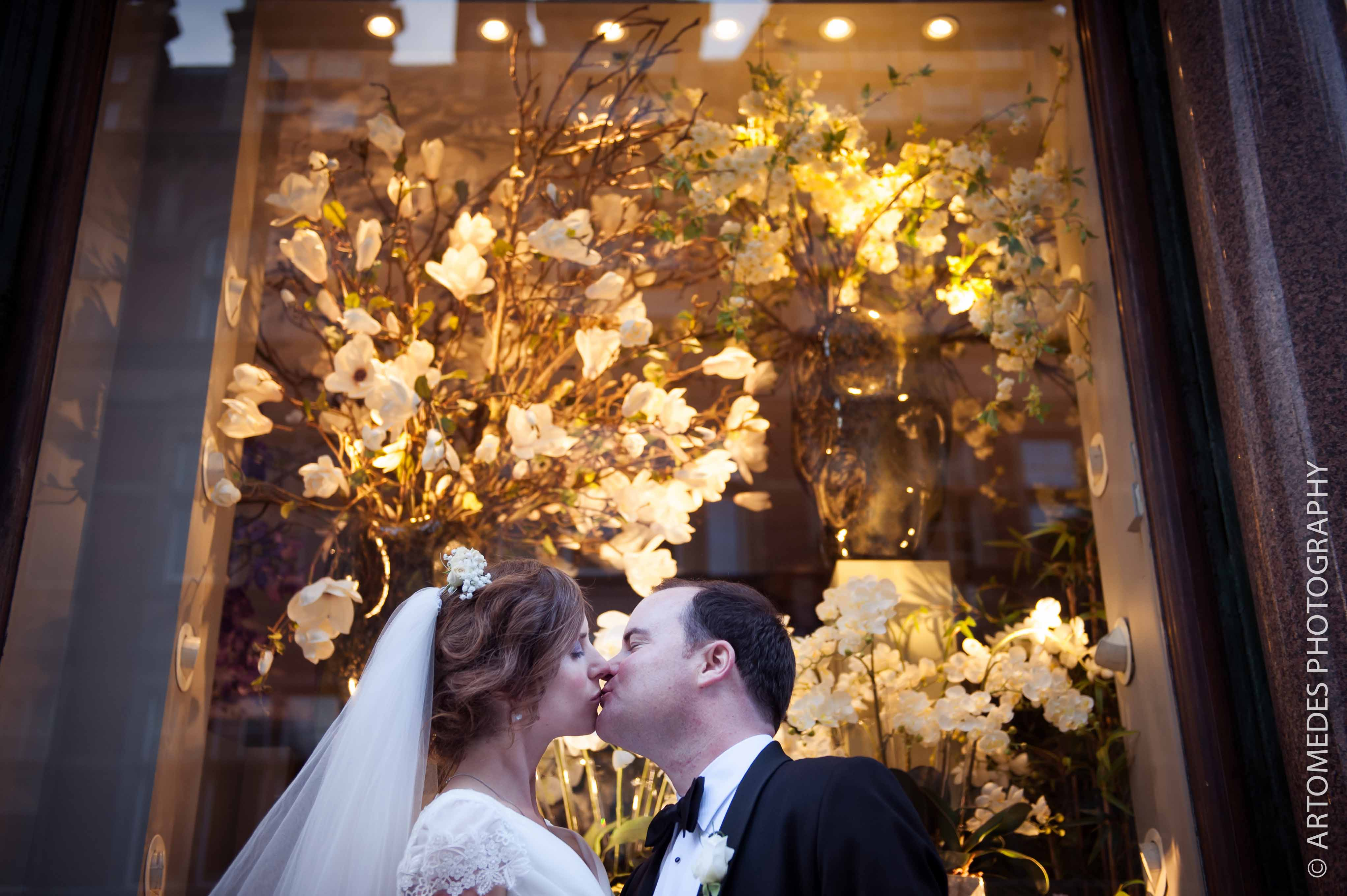 Wedding Photography at Le Méridien Piccadilly - here's a quick shot from Elizabeth & Ryan's recent wedding at Le Méridien Piccadilly
