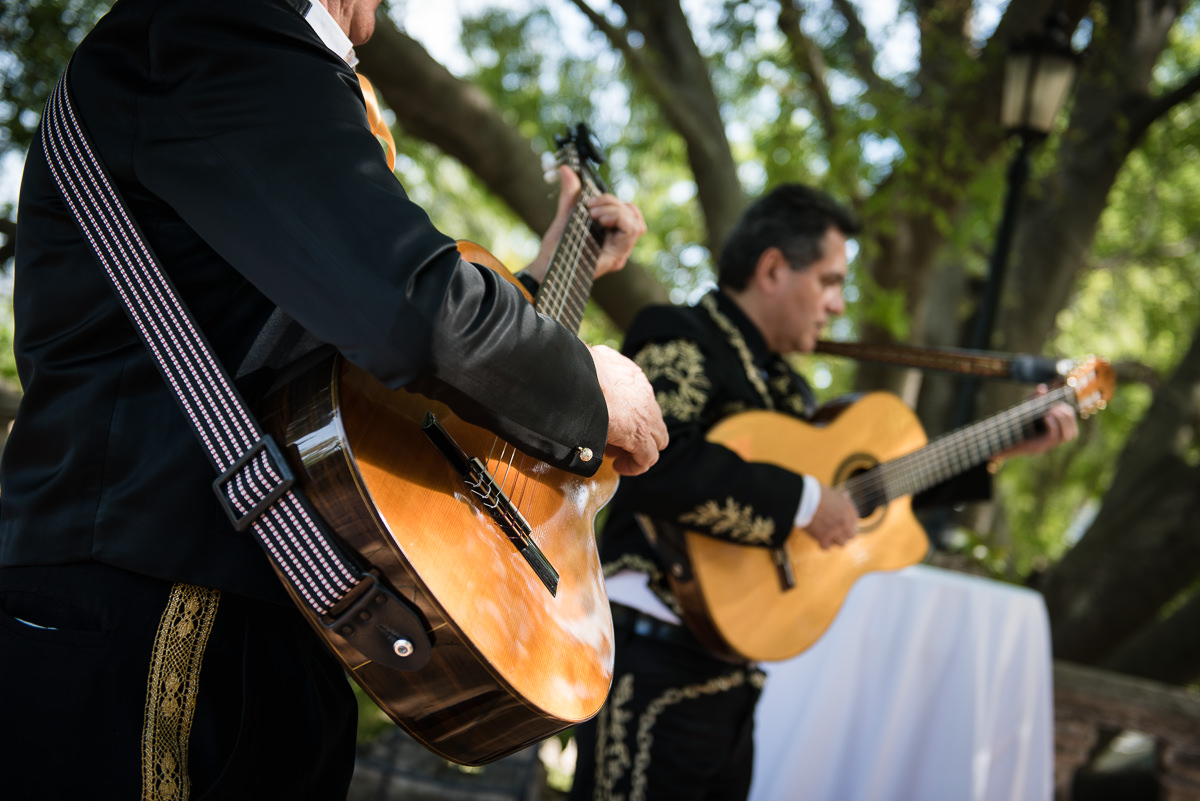 Mariachi band at casa santonja