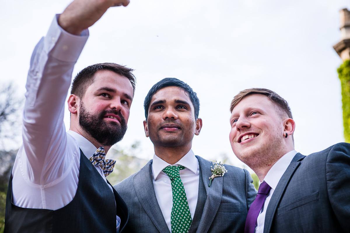 wedding selfies at Casa Santonja