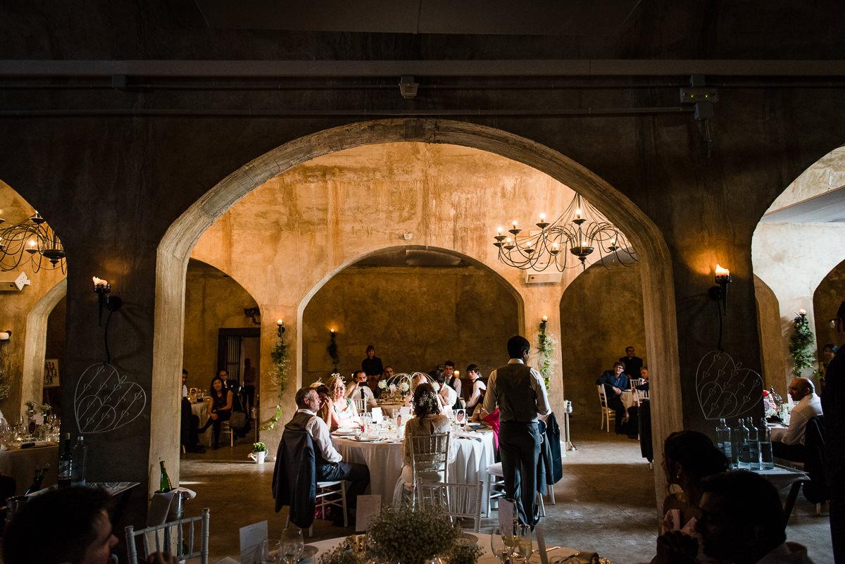 Beautiful spanish wedding venue