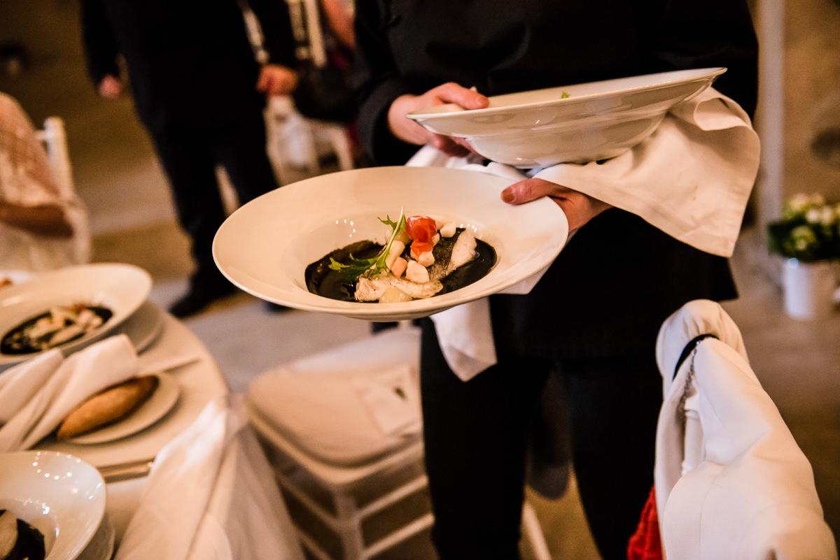 Gorgeous spanish wedding food