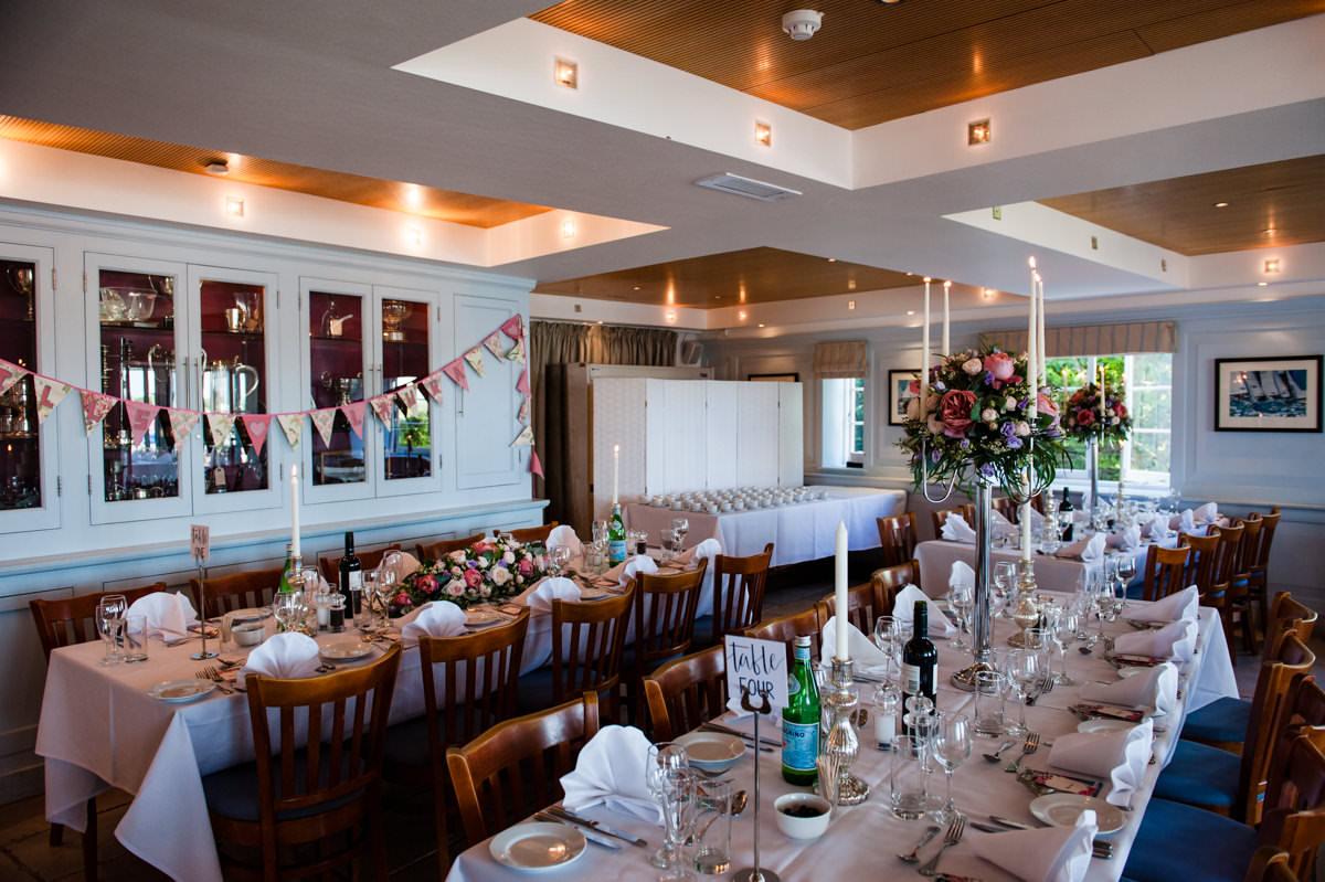Itchenor Sailing Club wedding photography
