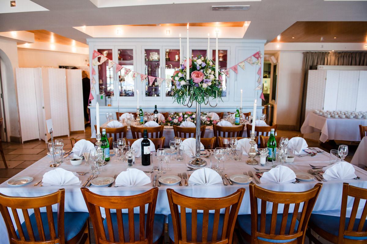 Itchenor Sailing Club wedding receptions
