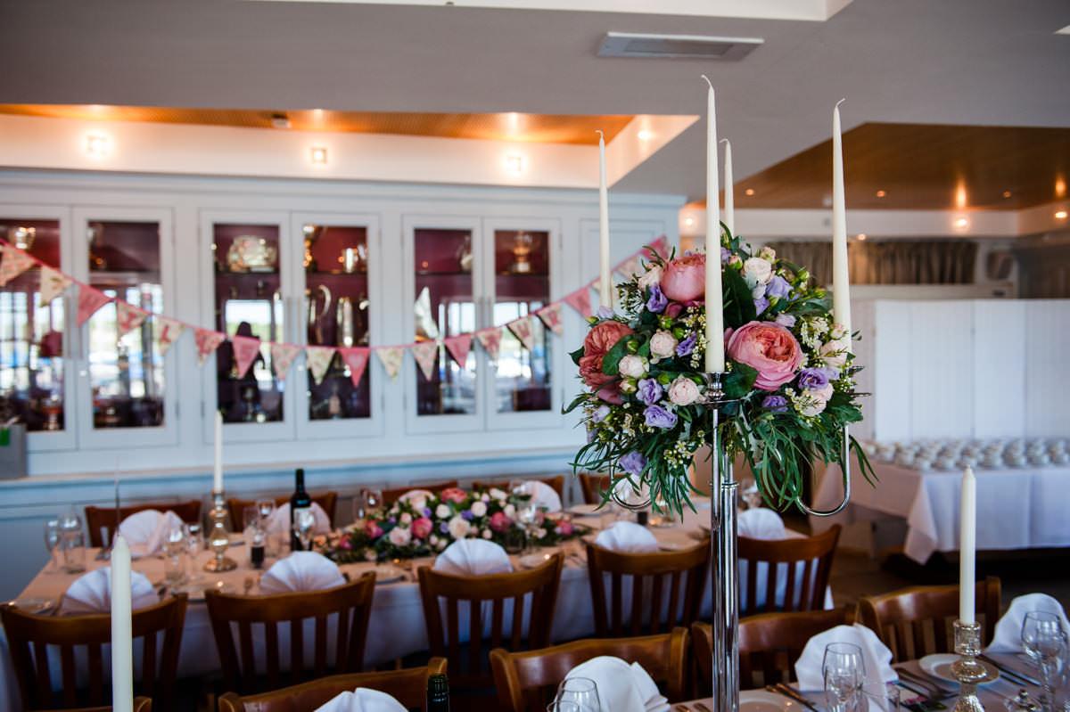 Venue decorations at Itchenor Sailing Club